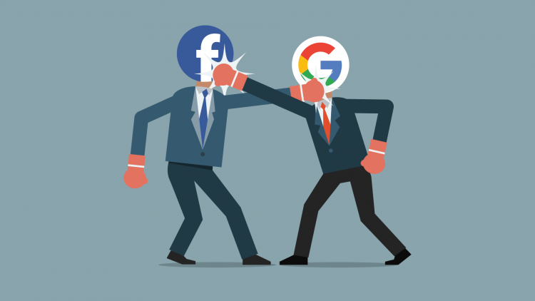 Google or Facebook